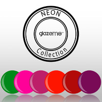 GlazeMe Neon 6 Polish Set