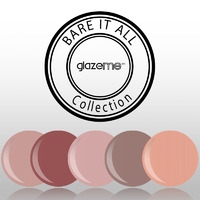 GlazeMe Bare it all Collection
