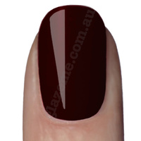GlazeMe Black Plum - UV Nail Polish