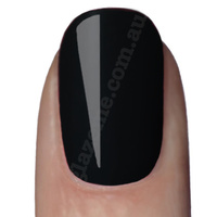 GlazeMe Tarmac Black - UV Nail Polish