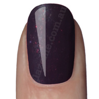 GlazeMe Midnight Violet - UV Nail Polish