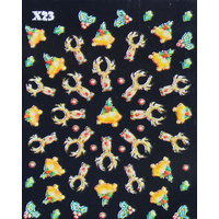 3d Nail Stickers - Christmas Set 14